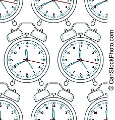 Alarm clock pattern