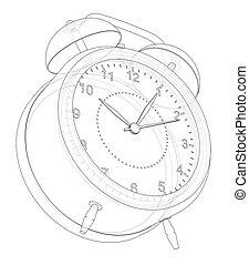 Alarm clock sketch