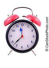 Alarm Clock - Isolated Alarm Clock