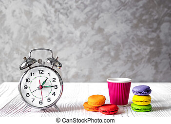 alarm clock time to drink coffe