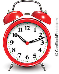 Alarm clock  - Red alarm clock