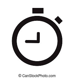 alarm clock-Vector icon