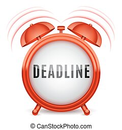 Alarm Clock with Deadline Word