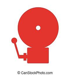 alarm emergency fire icon