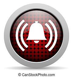 alarm glossy icon