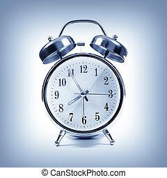 alarm, klocka