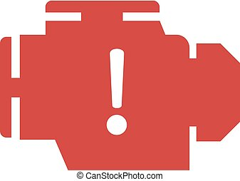 alarm motor car icon - Creative design of alarm motor car...