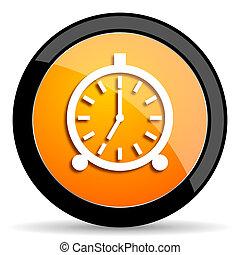 alarm orange icon