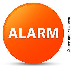 Alarm orange round button