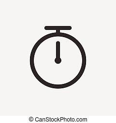 alarm outline icon