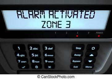 Alarm Panel Activated