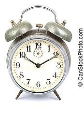 alarm,  retro, klocka