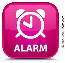 Alarm special pink square button