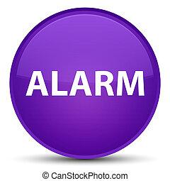 Alarm special purple round button