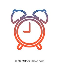 alarm time clock watch icon
