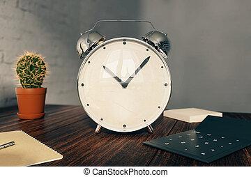 alarm ur, skrivebord