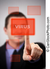 alarm, virus