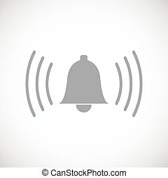 Alarmclock black icon - Alarmclock web black icon on a white...