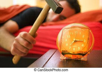 alarme, 01, relógio
