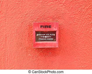 alarme fogo