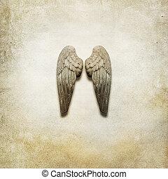 alas ángel, plano de fondo