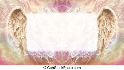 alas, ángel, tablero del mensaje