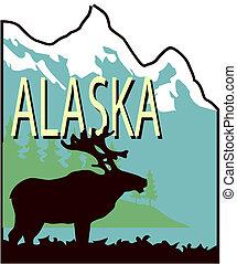 state alaska illustrations and clipart 2 006 state alaska royalty rh canstockphoto ie alaska clipart map alaska state clipart