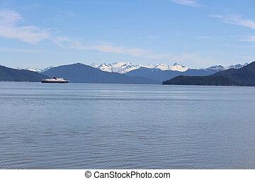 Alaska Ferry Landscape