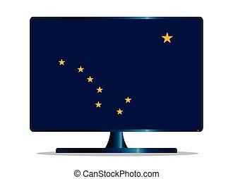 Alaska Flag TV