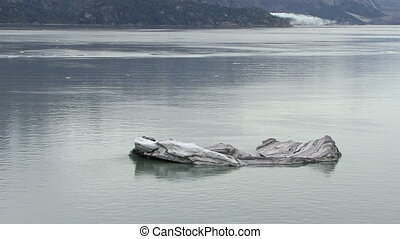 Alaska - Glacier Bay - Iceberg - USA - Alaska - Ice Detached...