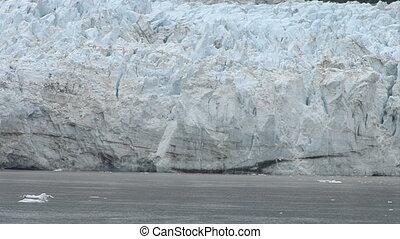 Alaska - Margerie Glacier - Closeup - USA - Alaska -...