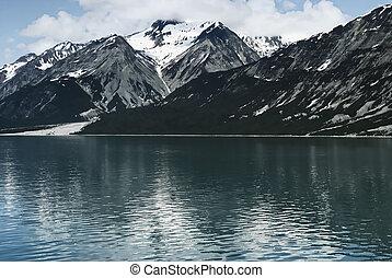 Alaska mountain landscape.