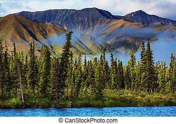 alaska, mountains