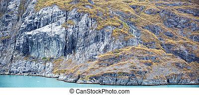 Alaskan Coastline Panorama