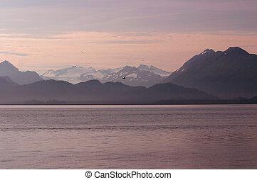 Alaskan Dawn - Dawn over Kachemak Bay, the most nutrient ...
