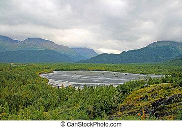 Alaskan Glacier Bed