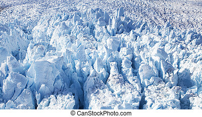 Alaskan Glacier Close up