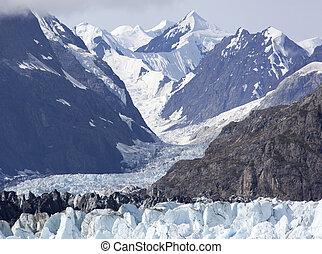 Alaskan Glacier Landscape