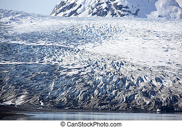 Alaskan Glacier Patterns