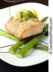 Alaskan Salmon Dinner