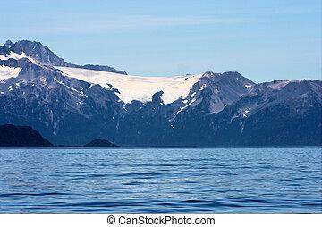 Alaskan Sea and Glacier