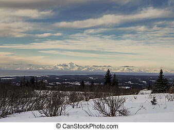 Alaskan Volcano View