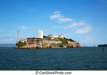 Al?atraz island in San Francisco bay, California