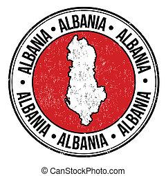 albânia, selo