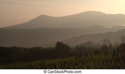 alb), Berge, Natur, deutsch,  (swabian, Morgen