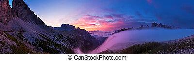 alba, Dolomiti