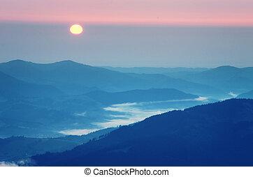alba, in, mountain.
