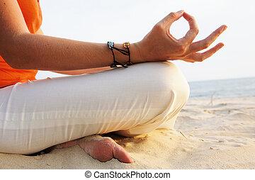 alba, meditazione