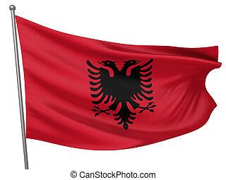 Albania National Flag