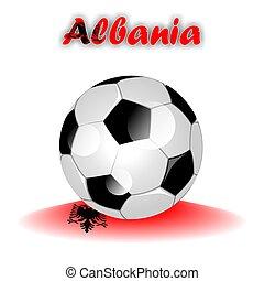 ALBANIA soccer ball